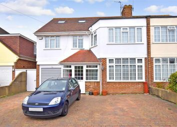 Thumbnail 6 bed semi-detached house for sale in Trent Road, Goring-By-Sea, Worthing, West Sussex