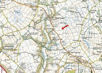 Thumbnail Land for sale in Approx. 56.68 Acres Or Thereabouts, Land Formerly Part Of Penralltybie, Ponthirwaun, Cardigan