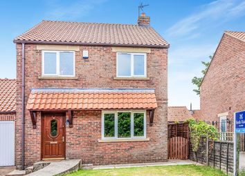 Thumbnail 3 bed detached house to rent in Sycamore Grove, Sherburn, Malton