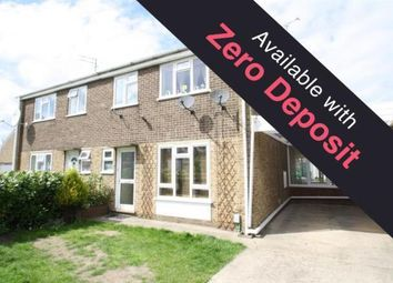 Thumbnail 3 bed semi-detached house to rent in Cherry Road, Wisbech