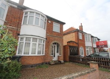 Thumbnail 3 bed semi-detached house to rent in Lynholme Road, Leicester