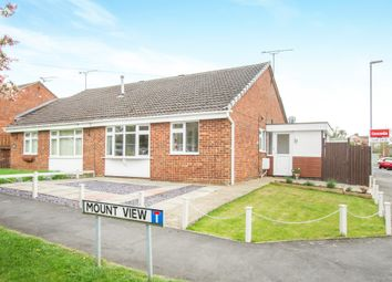 Thumbnail 2 bedroom semi-detached bungalow for sale in Mount View, Great Glen, Leicester