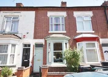 Thumbnail 2 bed terraced house for sale in Cranmer Street, West End, Leicester