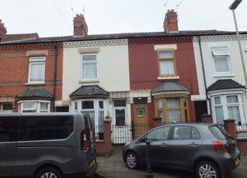 Thumbnail 4 bed terraced house for sale in Bakewell Street, Leicester