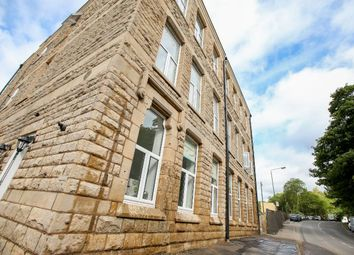 Thumbnail 2 bed flat for sale in Charlestown Road, Glossop