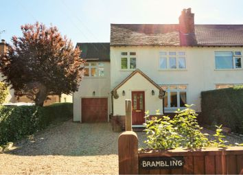 Thumbnail 4 bedroom semi-detached house for sale in Station Road, Fiskerton, Southwell