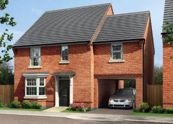 "Thumbnail 4 bed detached house for sale in ""Hurst"" at Morda, Oswestry"