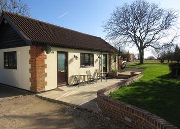Thumbnail 2 bed bungalow to rent in Nedging Road, Nedging Tye, Ipswich