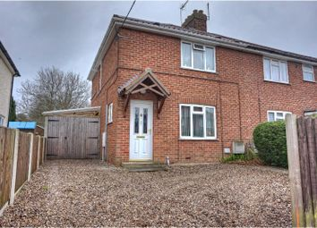 Thumbnail 2 bedroom semi-detached house for sale in Coronation Road, Holt