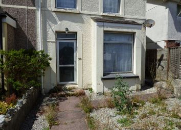 Thumbnail 1 bed flat to rent in Clarence Road, St Austell, Cornwall