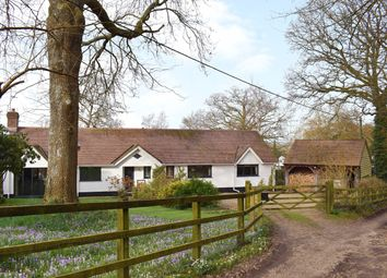 Thumbnail 4 bed bungalow for sale in Lower Densome Wood, Woodgreen, Fordingbridge