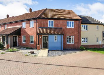 Thumbnail 3 bedroom terraced house for sale in The Ridings, Poringland, Norwich