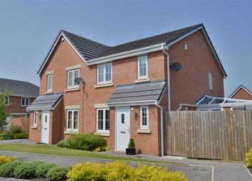 Thumbnail 4 bed semi-detached house for sale in Runfield Close, Leigh