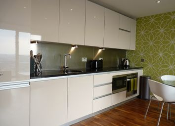 Thumbnail 2 bed flat to rent in City Loft, 94 The Quays, Salford Quays