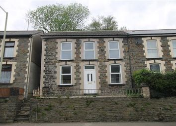 Thumbnail 3 bed semi-detached house for sale in Aberhondda Rd, Ynyshir, Porth