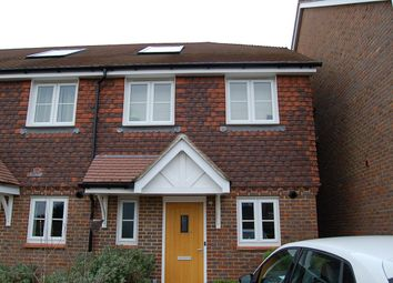 Thumbnail 2 bed end terrace house to rent in Westhill Close, Burgess Hill