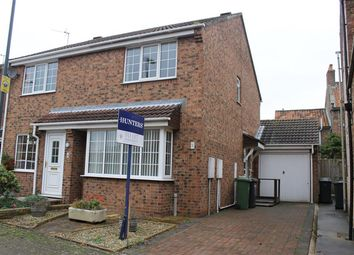 Thumbnail 2 bed semi-detached house to rent in New Inn Lane, Easingwold, York