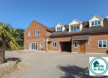 Thumbnail 2 bed flat for sale in Blackmore Road, Hook End, Brentwood