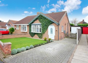 Thumbnail 2 bed semi-detached bungalow for sale in Maple Close, South Milford, Leeds