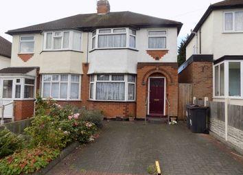 Thumbnail 3 bedroom semi-detached house for sale in Sandringham Road, Great Barr, Birmingham