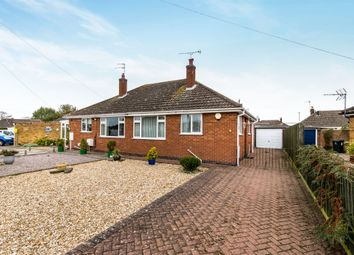 Thumbnail 2 bed semi-detached bungalow for sale in Forsyth Crescent, Skegness