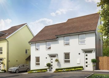 "Thumbnail 3 bed semi-detached house for sale in ""Finchley"" at Tiverton Road, Cullompton"