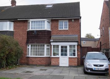 Thumbnail 3 bed semi-detached house for sale in Saltcoates Avenue, Leicester