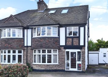 Thumbnail 4 bed semi-detached house for sale in Orchard Close, Watford, Hertfordshire
