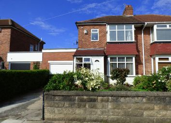 Thumbnail 3 bed semi-detached house for sale in Sherfield Drive, Cochrane Park, Newcastle Upon Tyne