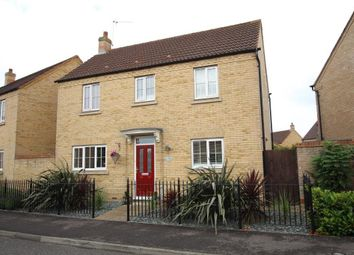 Thumbnail 3 bedroom detached house for sale in Columbine Road, Ely