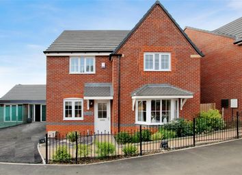 Thumbnail 4 bedroom detached house for sale in Morville Street, Webheath, Redditch