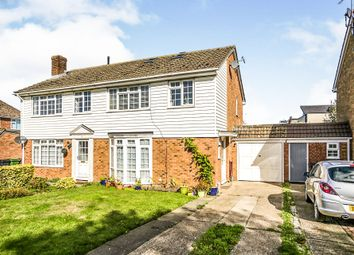 Thumbnail 3 bed semi-detached house for sale in Dane Court, Coxheath, Maidstone
