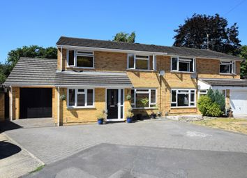 Thumbnail 4 bed semi-detached house for sale in Randell Close, Hawley