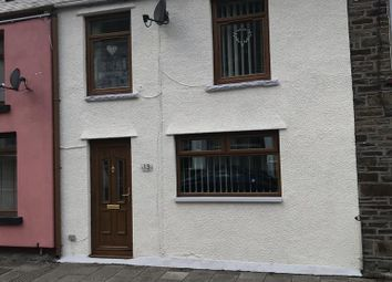 Thumbnail 3 bed terraced house to rent in High Street, Ogmore Vale, Bridgend