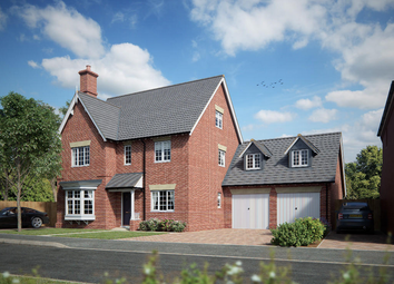 Thumbnail 5 bed detached house for sale in The Dunstall, Strancliffe Gardens, Cotes Road, Barrow Upon Soar, Loughborough