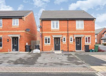 Thumbnail 2 bed semi-detached house for sale in Rosebud Way, Catterick Garrison