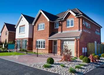 Thumbnail 4 bed detached house for sale in The Glyn, Holmes Chapel Road, Congleton, Cheshire