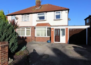 Thumbnail 3 bed semi-detached house for sale in Westmorland Avenue, Thornton-Cleveleys