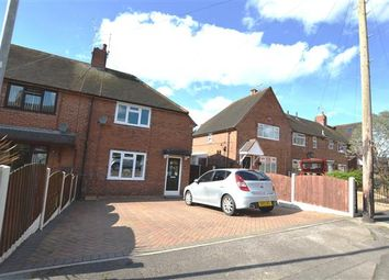 Thumbnail 2 bed town house for sale in Hempstalls Grove, Newcastle, Newcastle-Under-Lyme