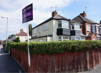 Thumbnail 2 bed semi-detached house for sale in Belgrave Drive, Hull