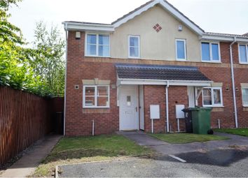 Thumbnail 2 bed end terrace house for sale in Church Green, Bilston