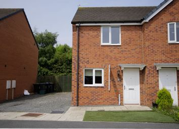 Thumbnail 2 bed semi-detached house for sale in Spiro Court, Consett