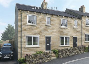 Thumbnail 3 bedroom town house for sale in Mill Moor Road, Meltham, Holmfirth