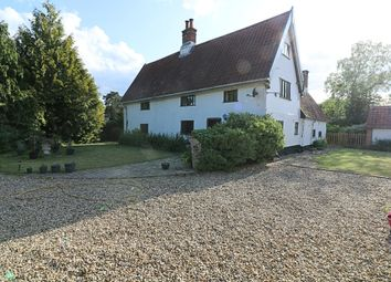 Thumbnail 5 bed cottage for sale in Church Road, Wacton, Norwich