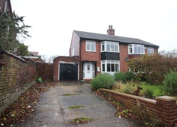 Thumbnail 3 bed semi-detached house for sale in St. James Road, Carlisle