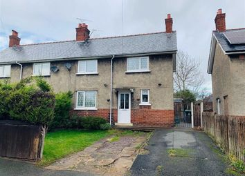 Thumbnail 3 bed semi-detached house for sale in Second Avenue, Gwersyllt, Wrexham