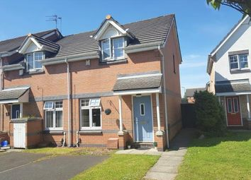 Thumbnail 2 bedroom end terrace house for sale in The Midfield, Middlesbrough
