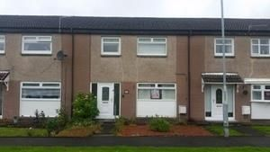 Thumbnail 3 bed terraced house to rent in Lyons Quadrant, Wishaw