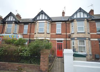 Thumbnail 4 bed terraced house for sale in Exeter Road, Exmouth