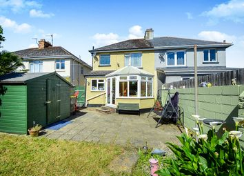 Thumbnail 3 bed semi-detached house for sale in Robers Road, Kingsteignton, Newton Abbot
